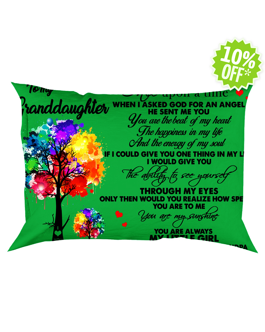 To my granddaughter once upon a time kelly Pillowcase