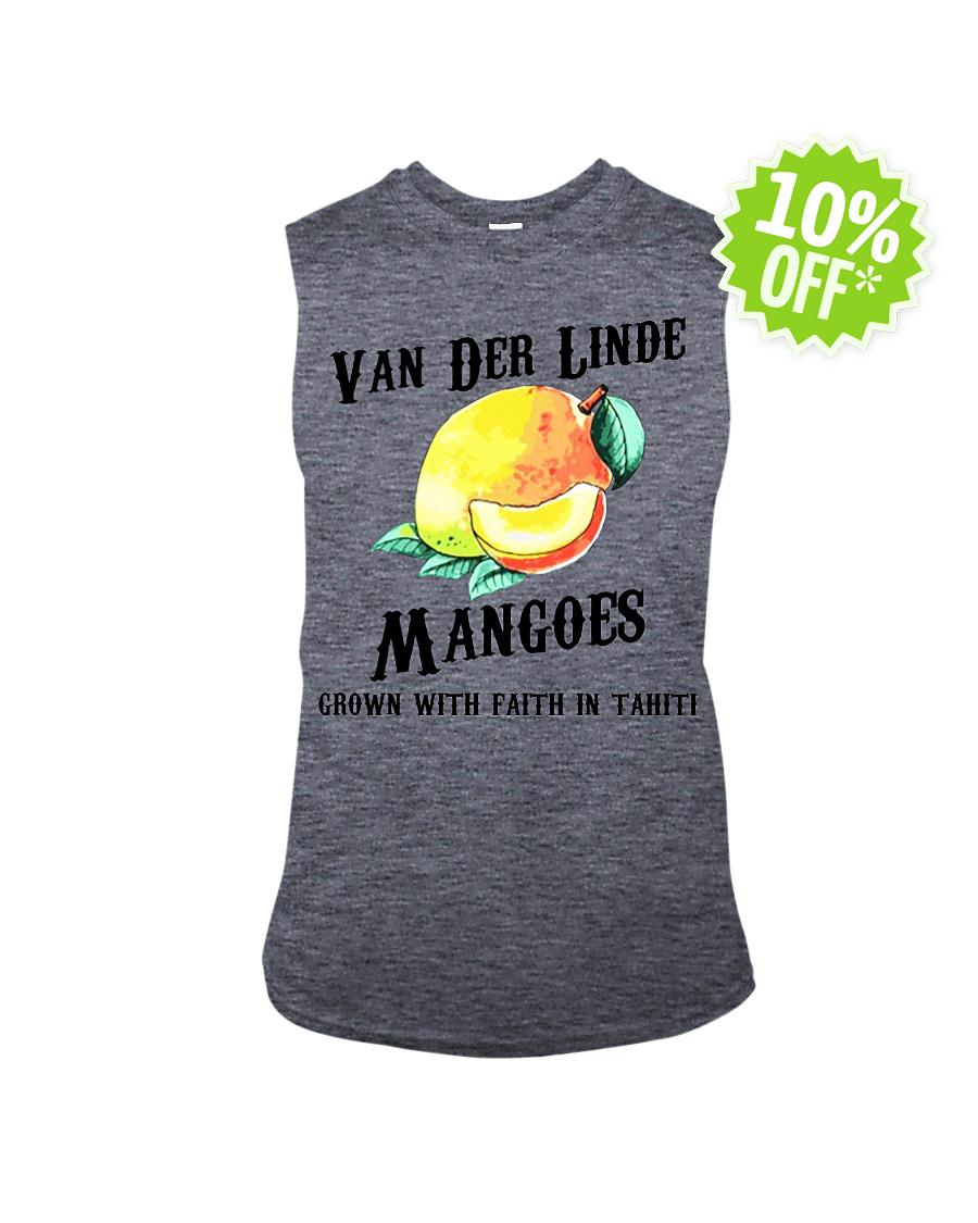 Van Der Linde Mangoes Grown with Faith in Tahiti sleeveless tee