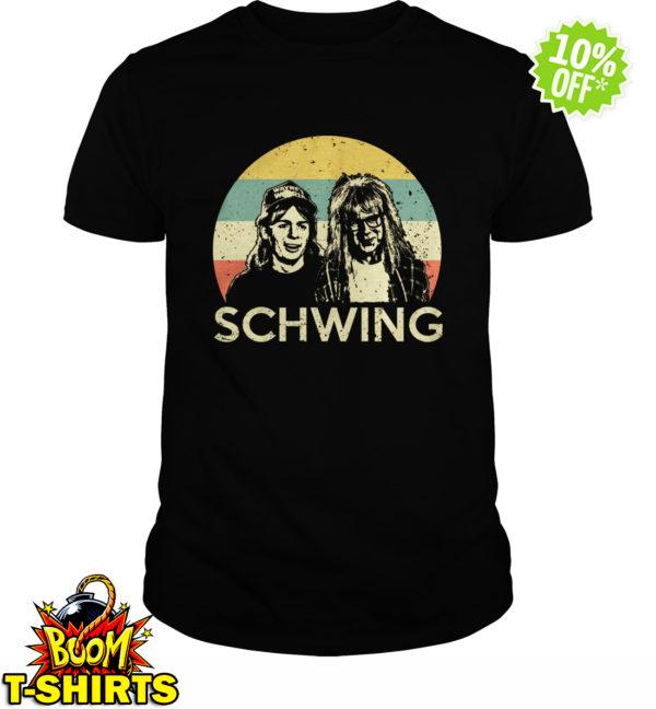 Wayne and Garth Schwing shirt