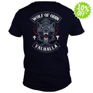 Wolf of Odin Valhalla shirt