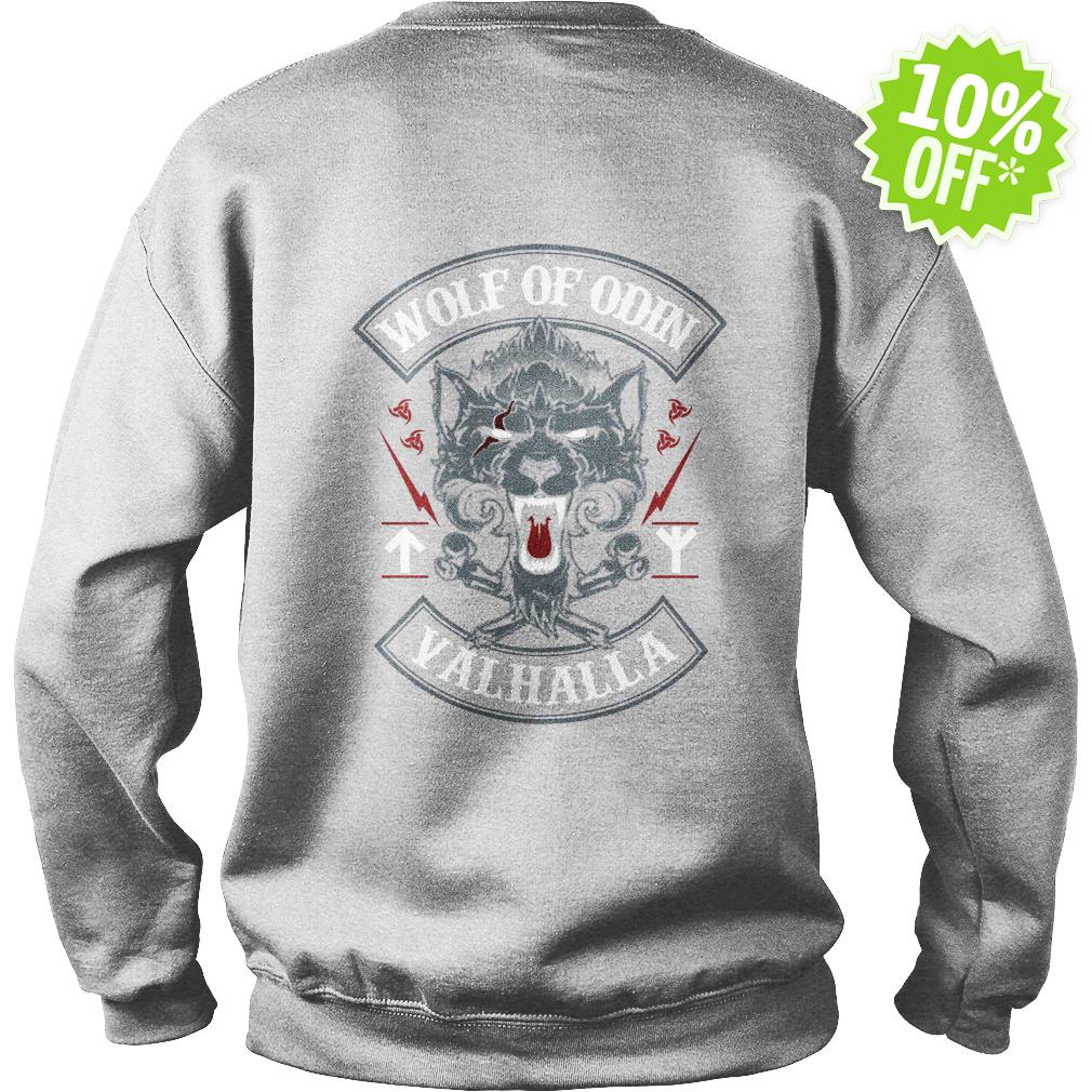 Wolf of Odin Valhalla sweatshirt