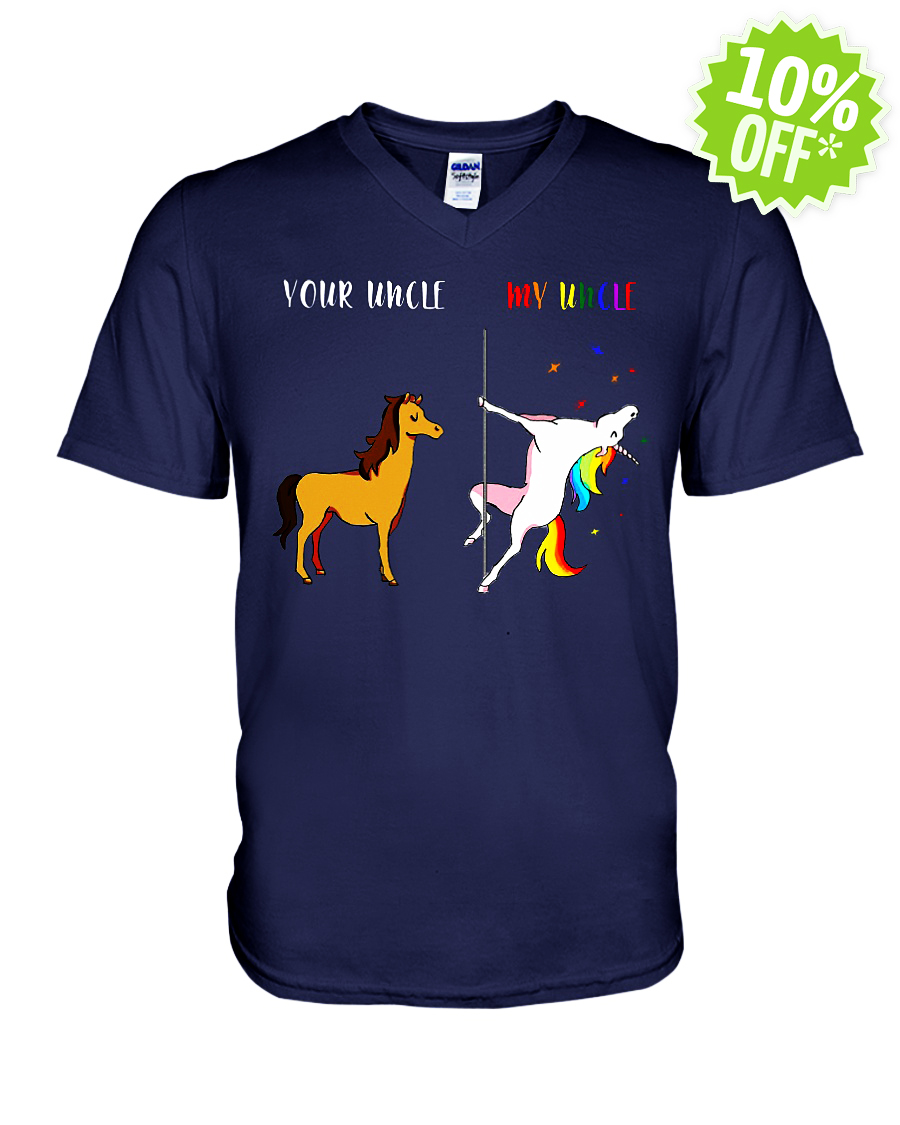 Your Uncle My Uncle Unicorn LGBT v-neck