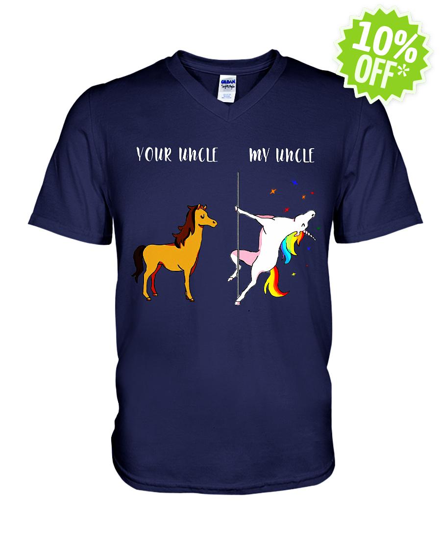 Your Uncle My Uncle Unicorn v-neck