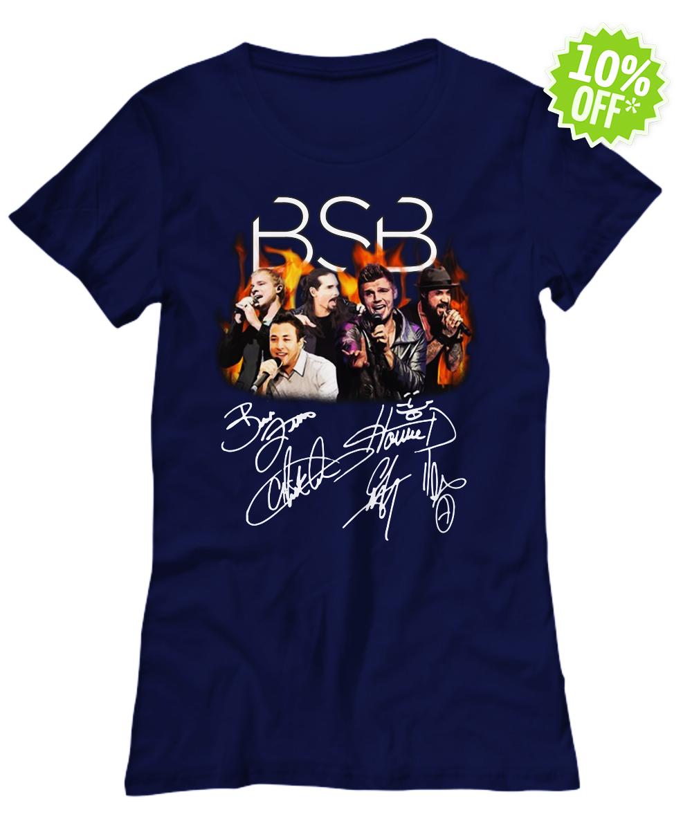 Backstreet Boys Signature lady shirt