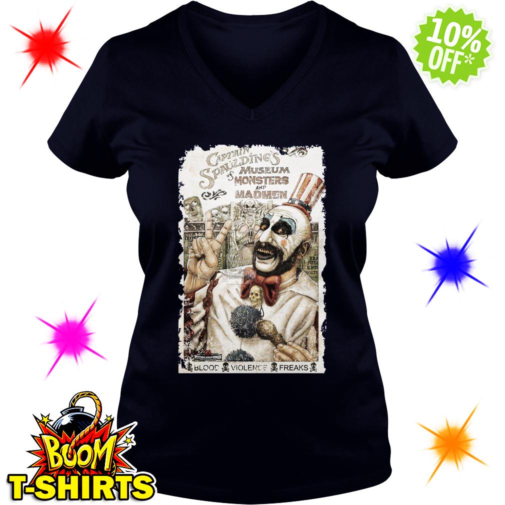Captain Spaulding's Museum of Monsters and Madmen v-neck