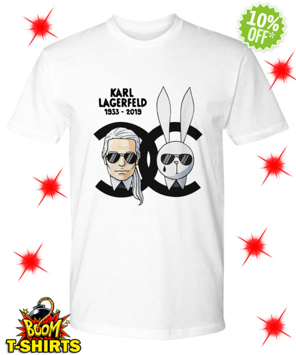 Chanel Karl Lagerfeld 1933-2019 shirt
