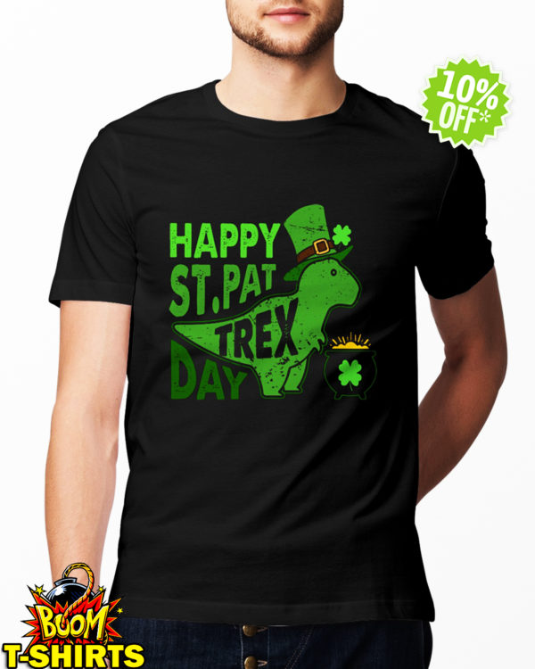 Happy St. Pat T-Rex Day shirt