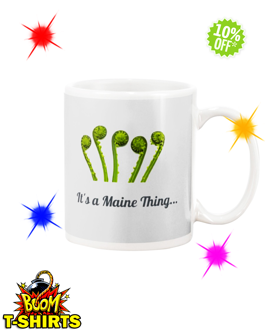 It's a Maine Thing Fiddlehead Ash mug