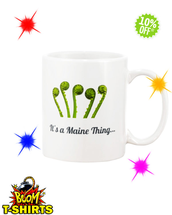 It's a Maine Thing Fiddlehead mug