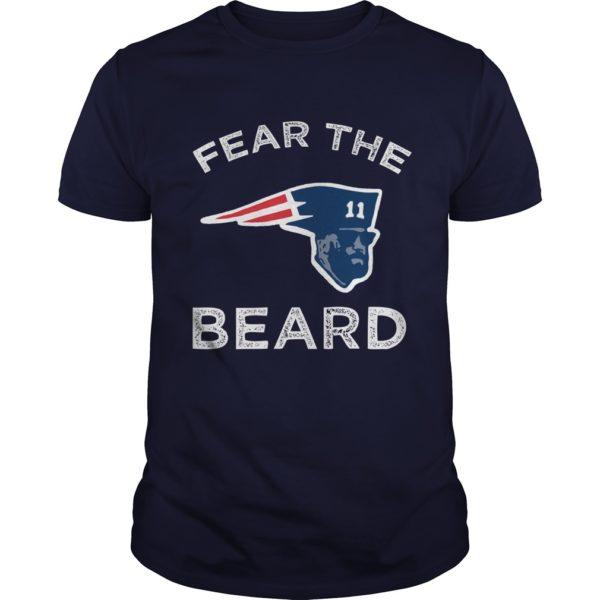 Julian Edelman Patriots Fear The Beard shirt