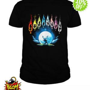 Pokemon Eevee Evolution Moon Night shirt