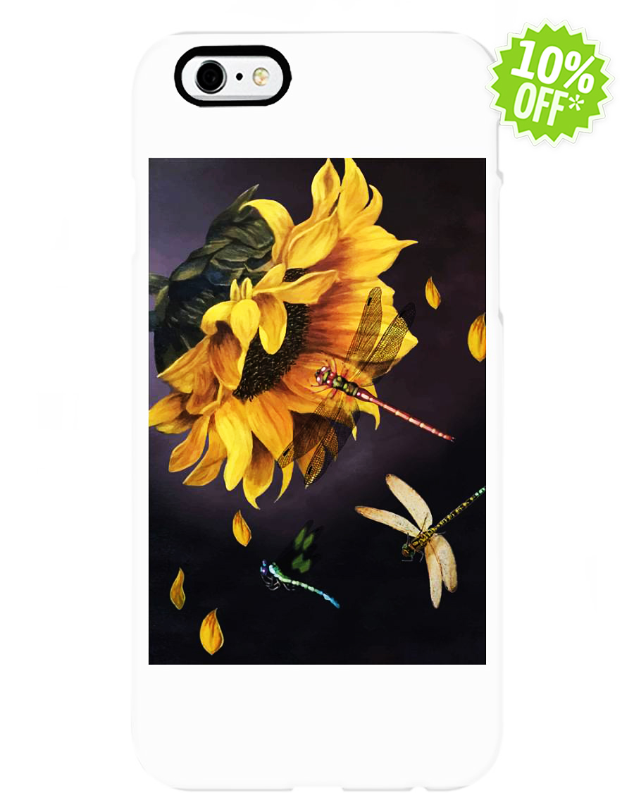 Sunflower and dragonfly 6-6s Phone Case