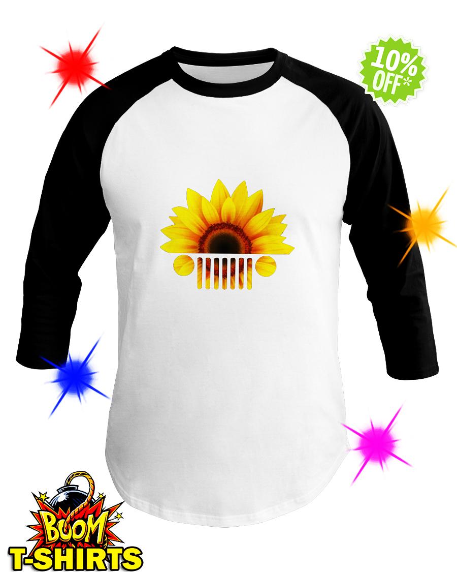 Sunflower jeep car shirt