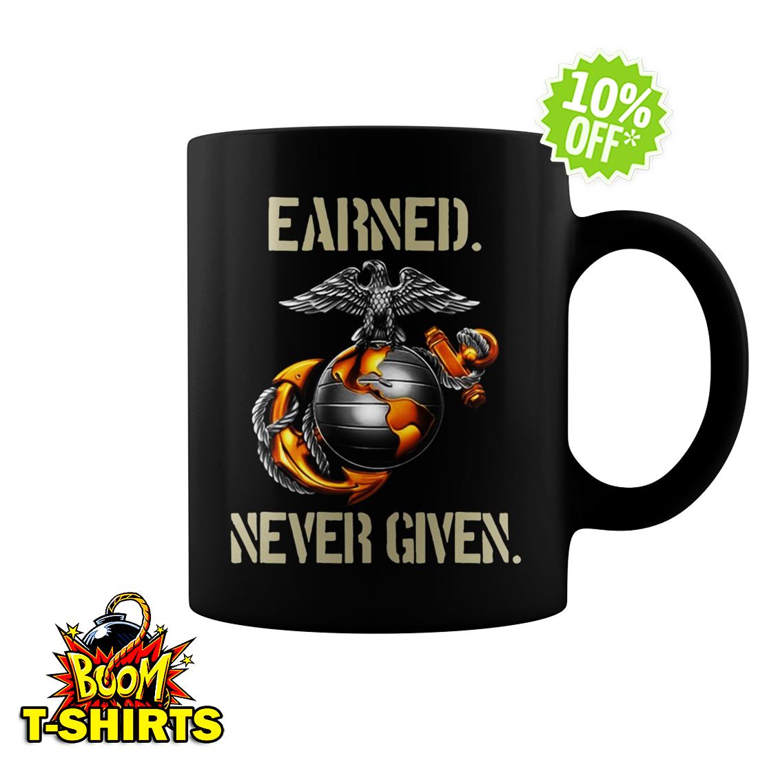 U.S. Marine Corps Earned never given mug