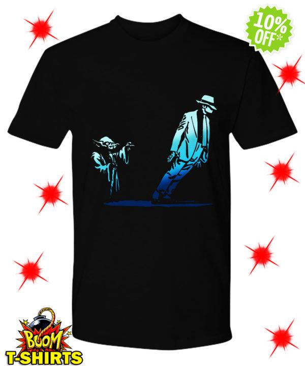 Yoda Star Wars and Michael Jackson dance shirt