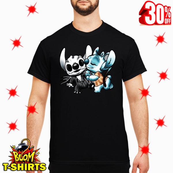 Angel Kiss Stitch The Nightmare Before Christmas shirt