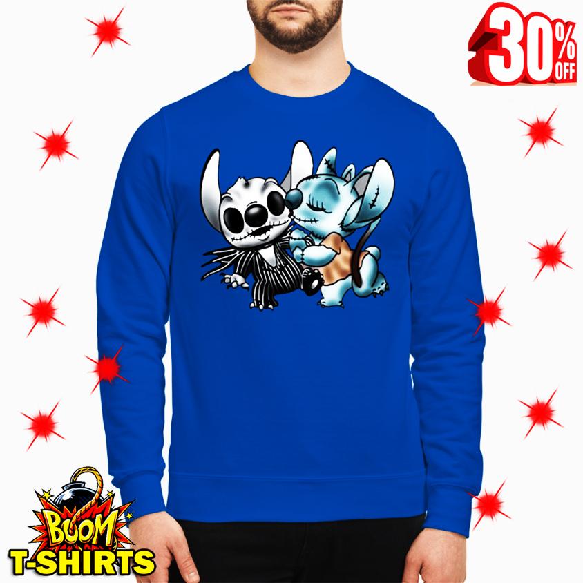 Angel Kiss Stitch The Nightmare Before Christmas sweatshirt