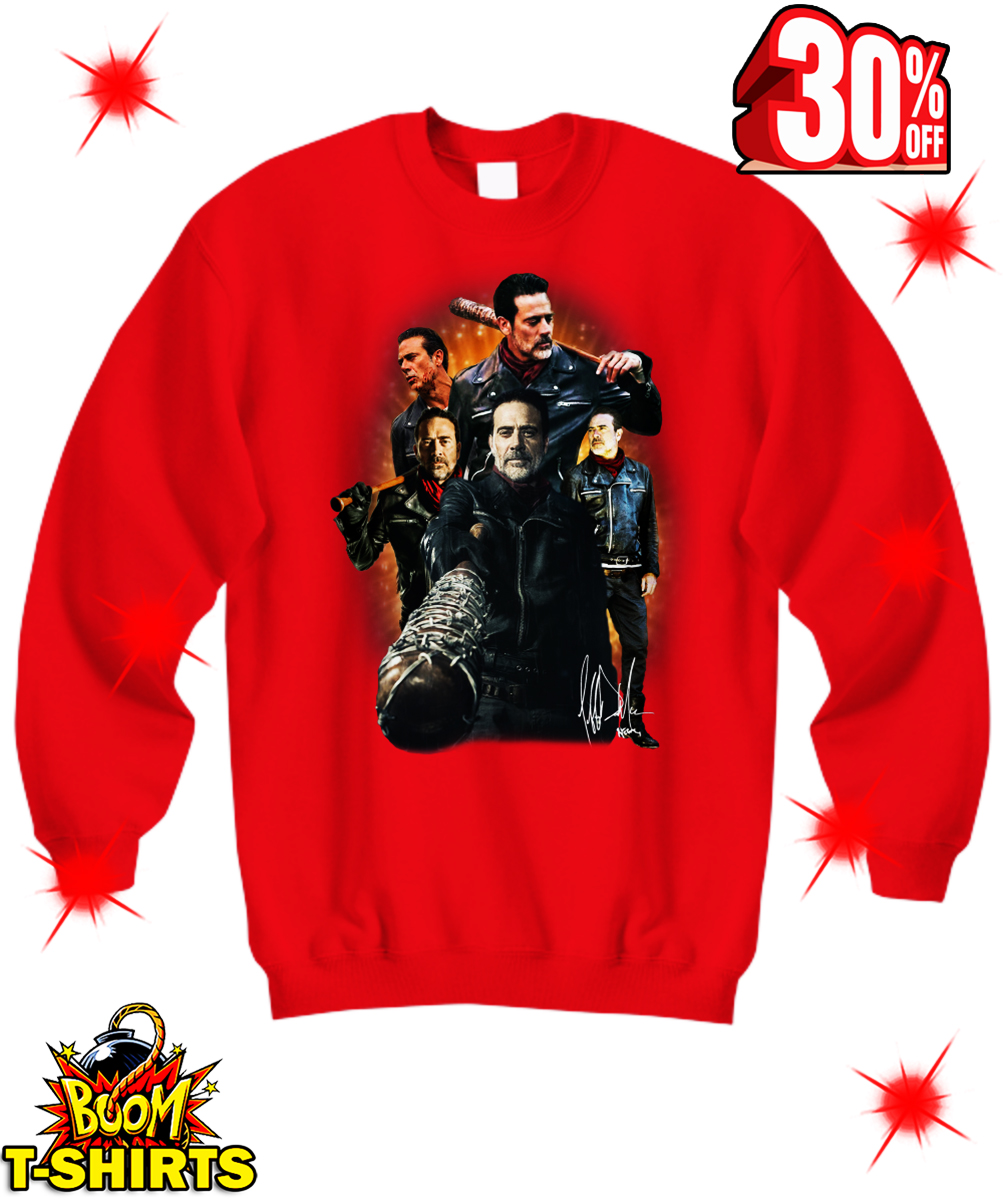 Autographed Negan The Walking Dead sweatshirt