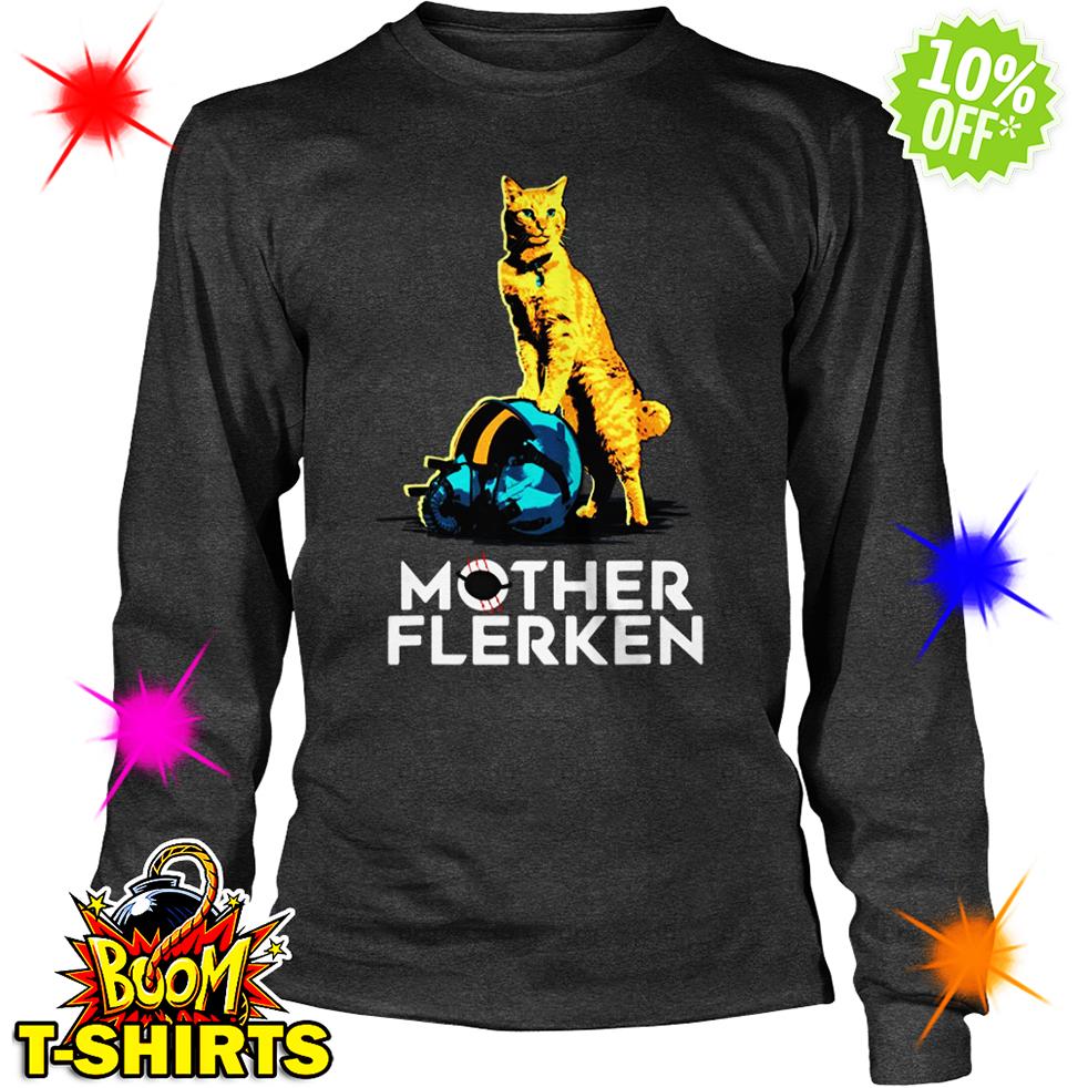 Cat Mother Flerken long sleeve tee