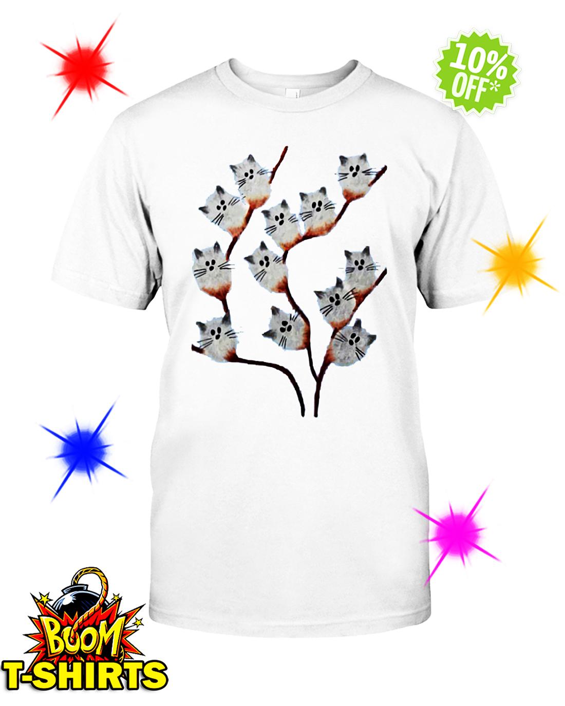 Cat tree Pussy willow shirt