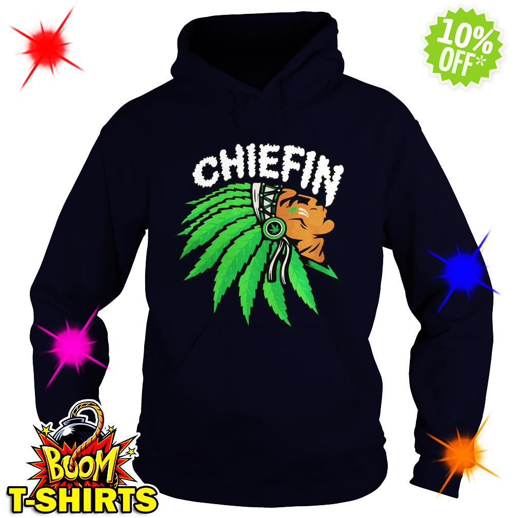 Chiefin Indian Weed Smoking hoodie
