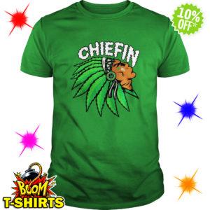 Chiefin Indian Weed Smoking shirt
