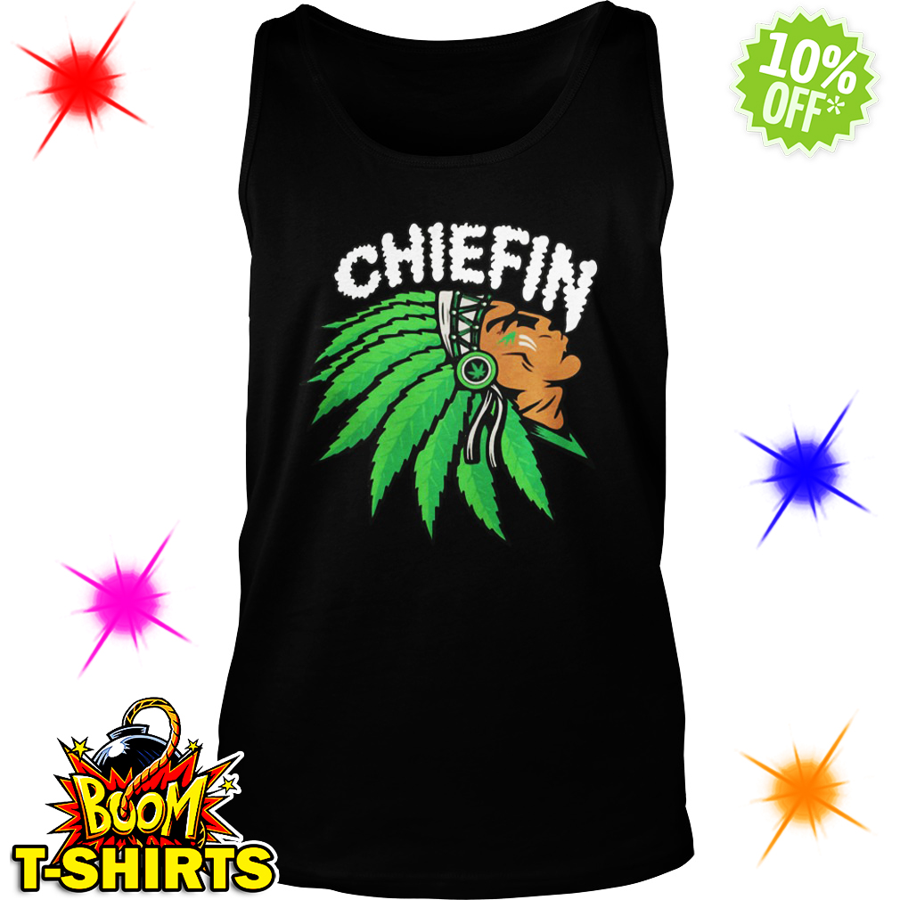 Chiefin Indian Weed Smoking tank top
