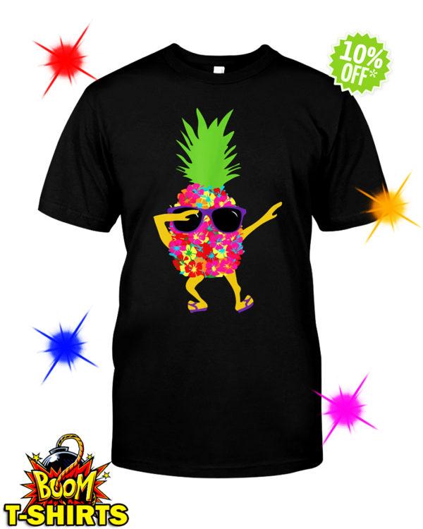 Dabbing Pineapple Sunglasses shirt