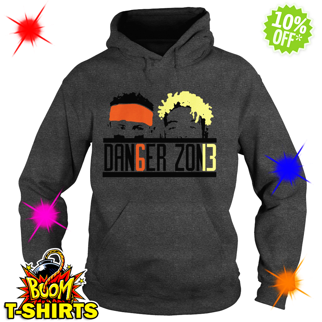 Danger Zone DAN6GER ZON13 Baker Mayfield Odell Beckham Jr hoodie