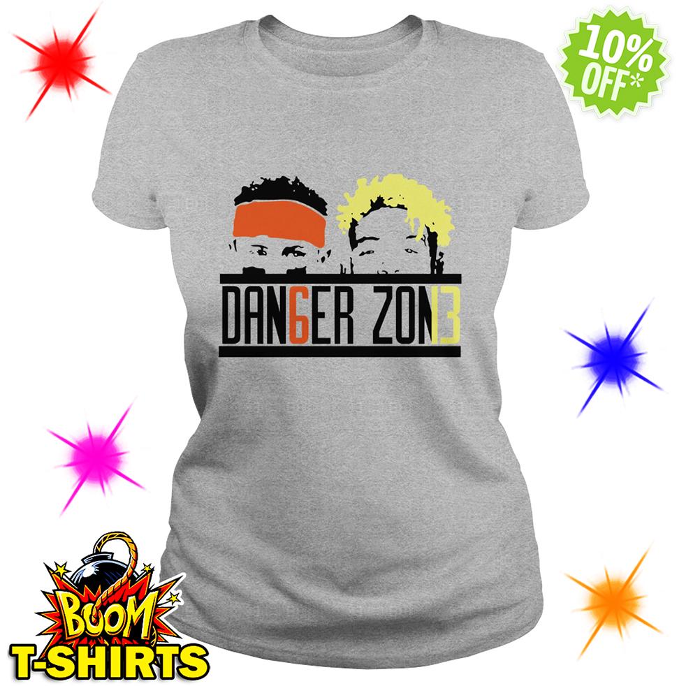 Danger Zone DAN6GER ZON13 Baker Mayfield Odell Beckham Jr lady shirt