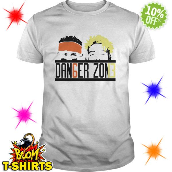 Danger Zone DAN6GER ZON13 Baker Mayfield Odell Beckham Jr shirt