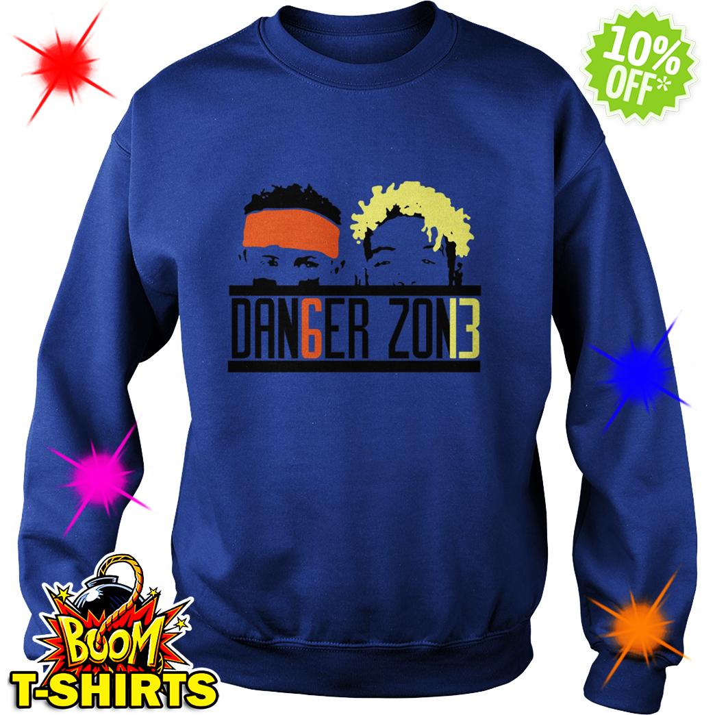 Danger Zone DAN6GER ZON13 Baker Mayfield Odell Beckham Jr sweatshirt