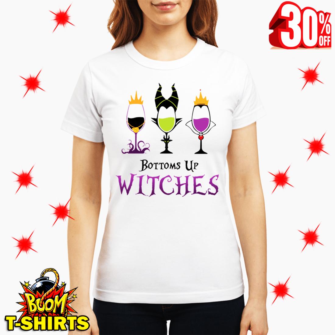 Disney Villains Bottoms Up Witches shirt