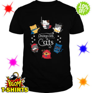 Dungeons and Cats shirt