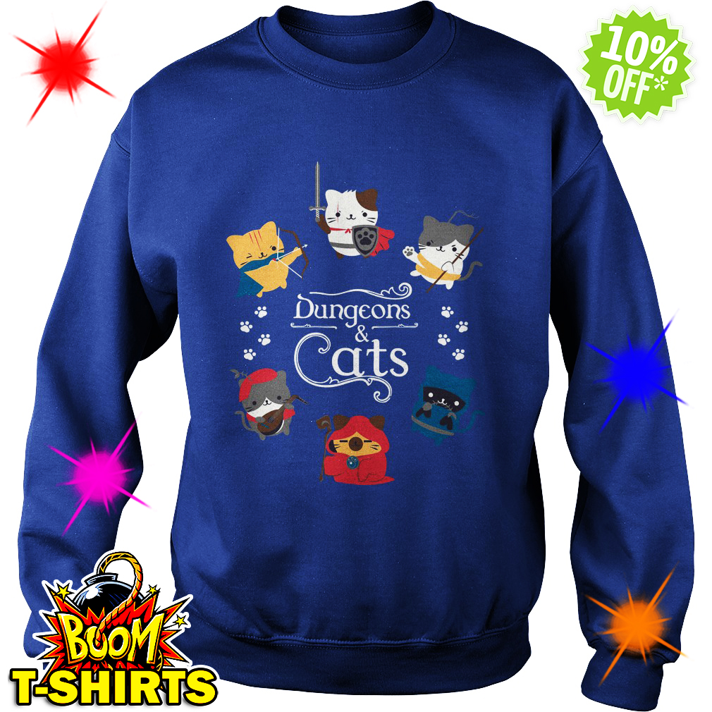 Dungeons and Cats sweatshirt