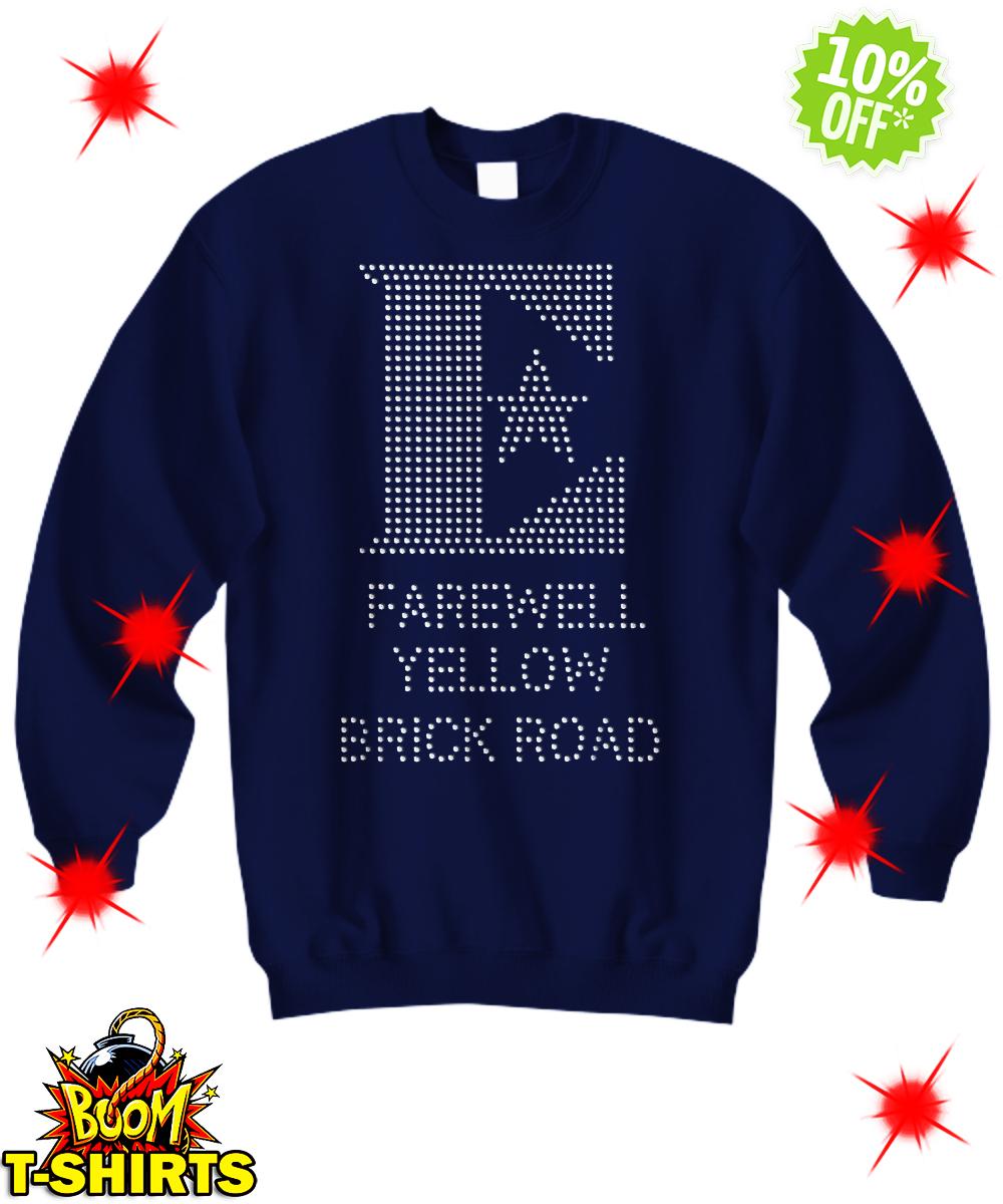 Elton John Farewell Yellow Brick Road sweatshirt