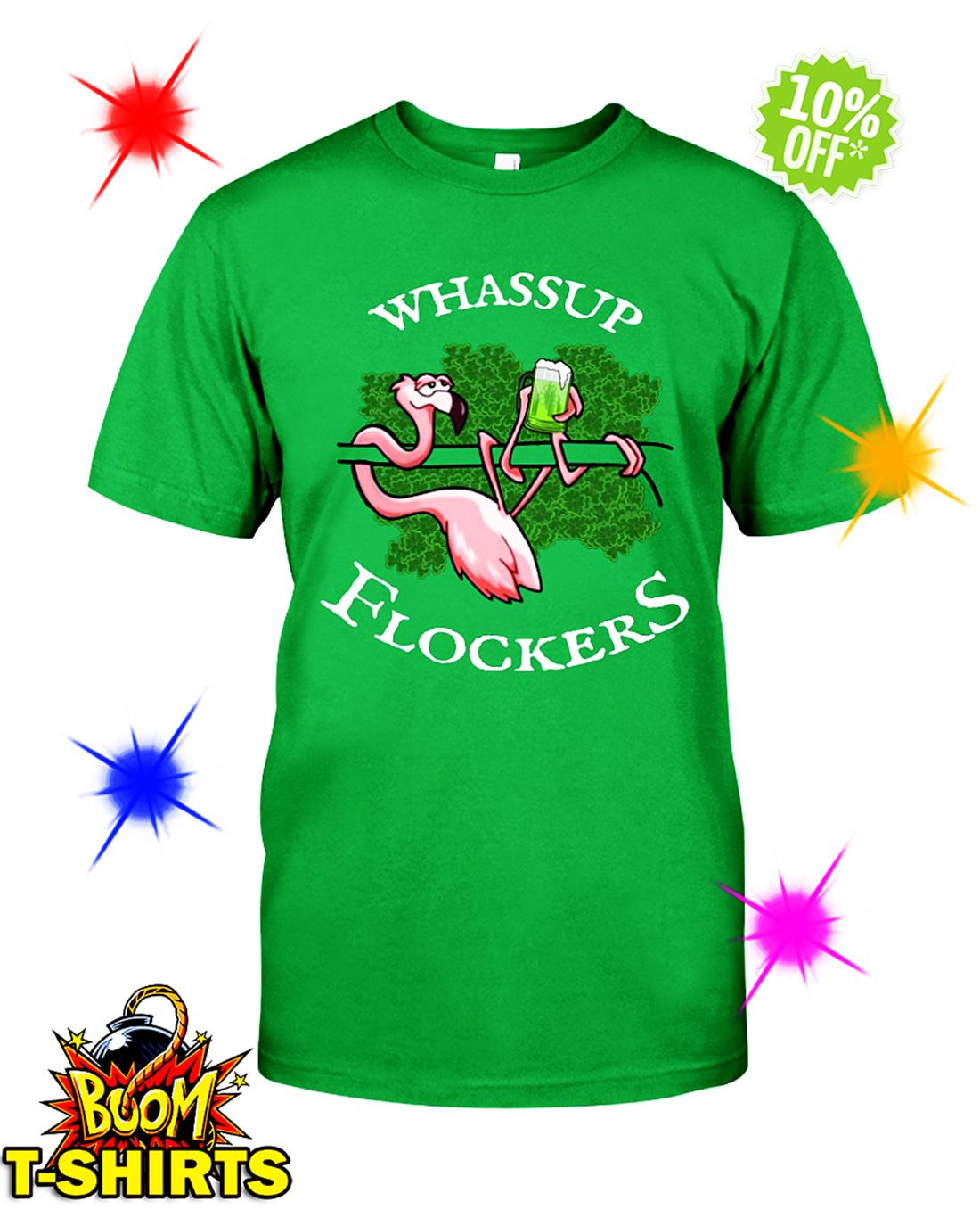 Flamingo Whassup Flockers Irish shirt