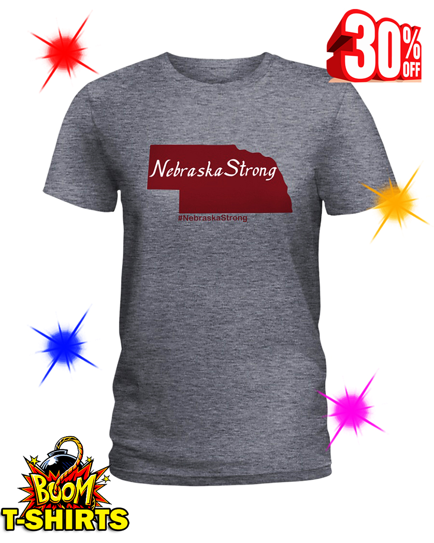 Flood Relief Nebraska Strong lady shirt