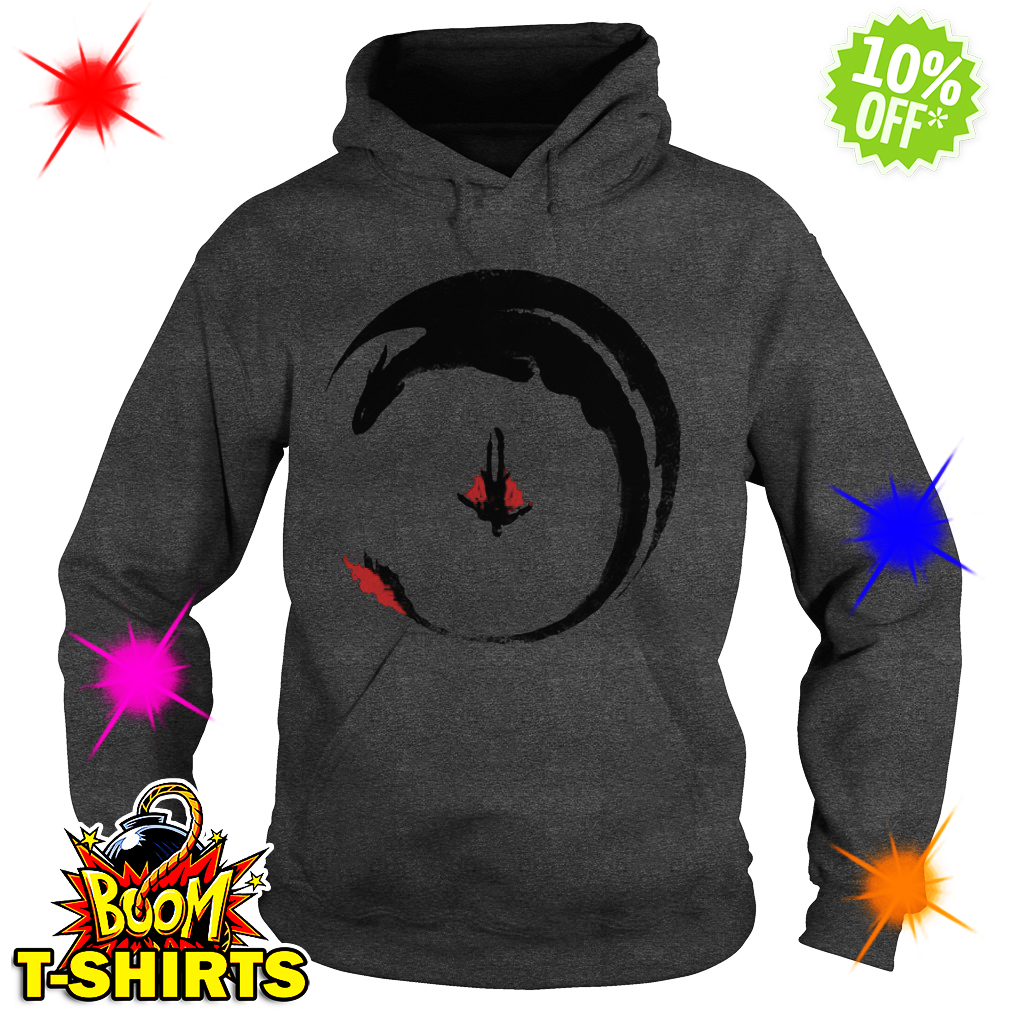 How to train your dragon 3 circling dragon hoodie