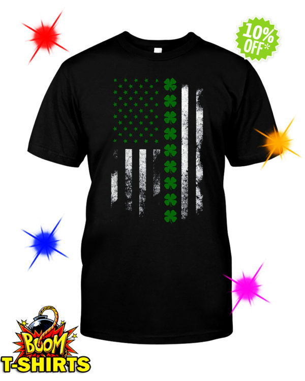Irish American Flag St. Patrick's Day shirt