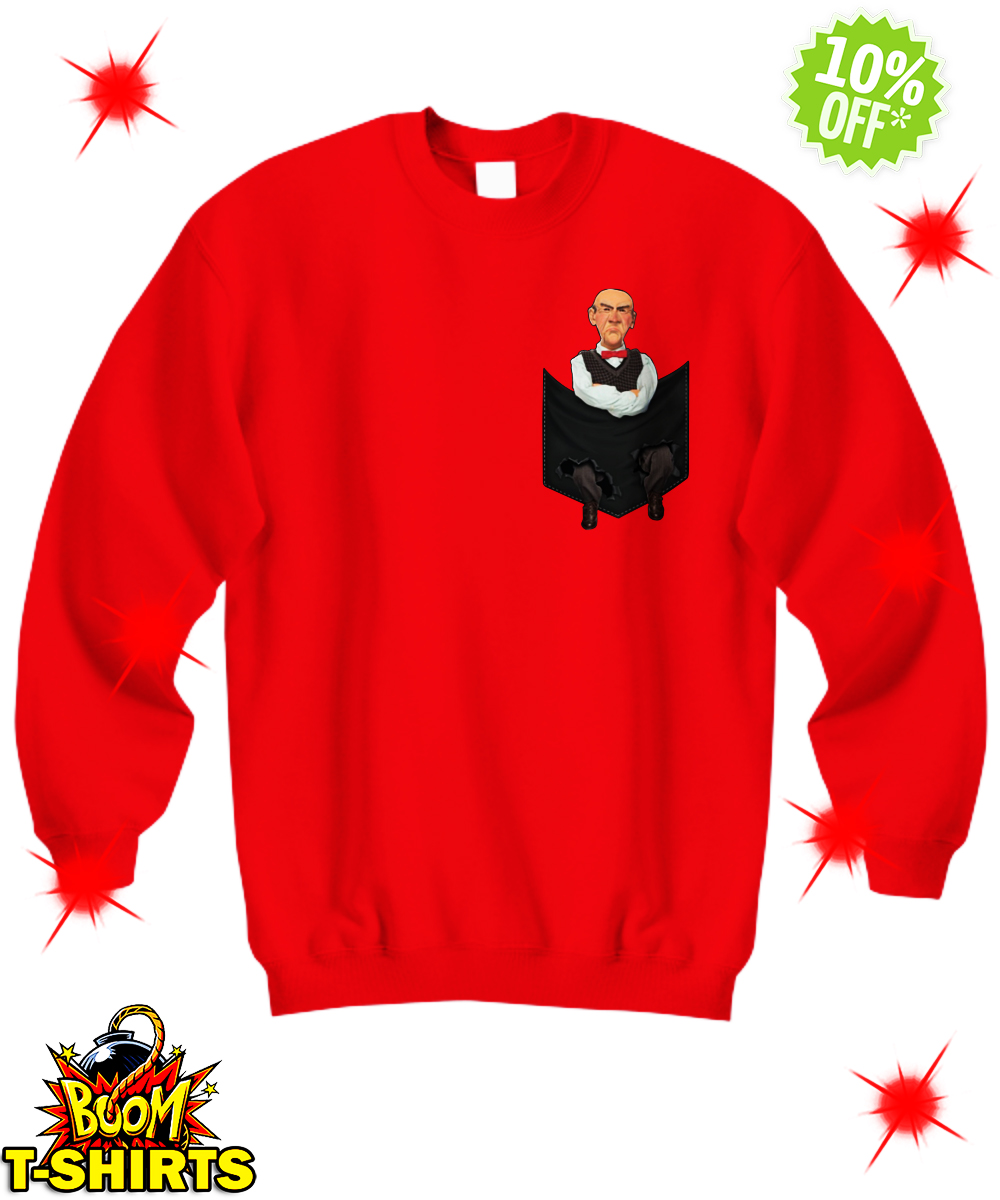 Jeff Dunham Walter Pocket sweatshirt