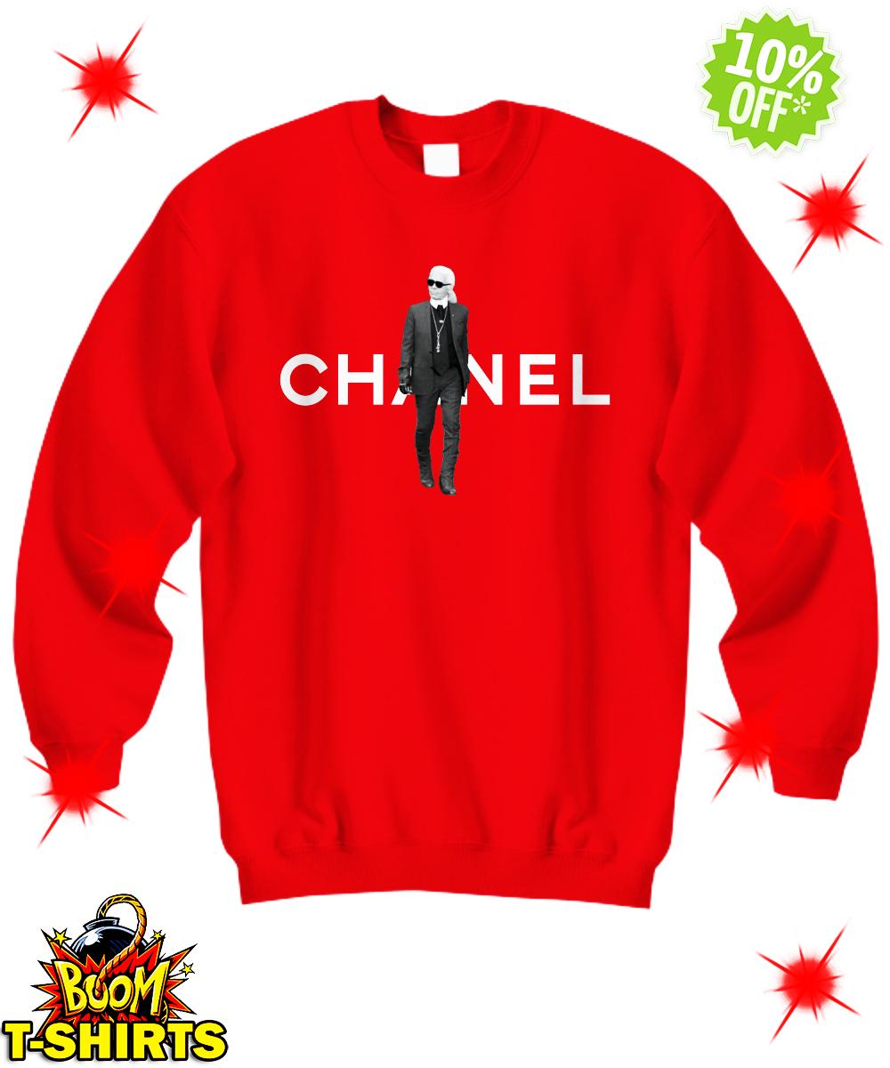 Karl Lagerfeld Chanel sweatshirt