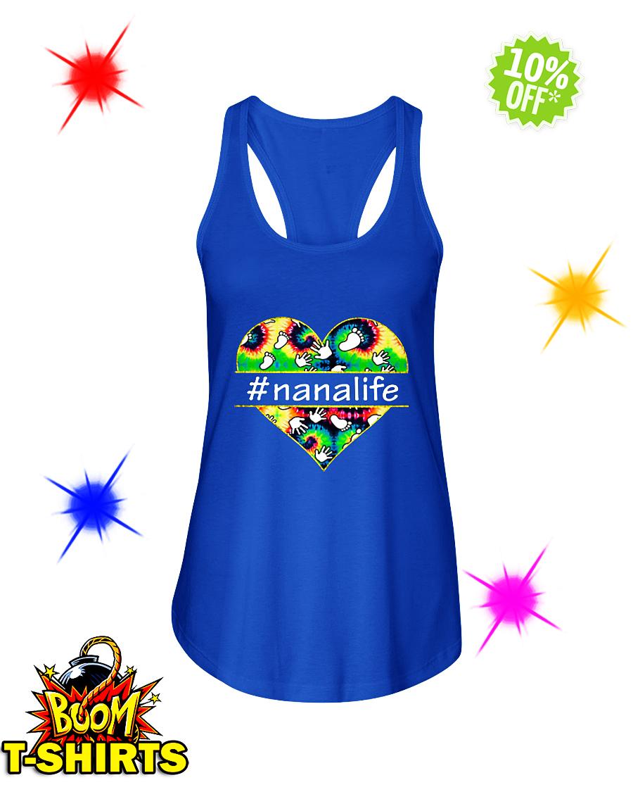 Nana life Hashtag nanalife flowy tank