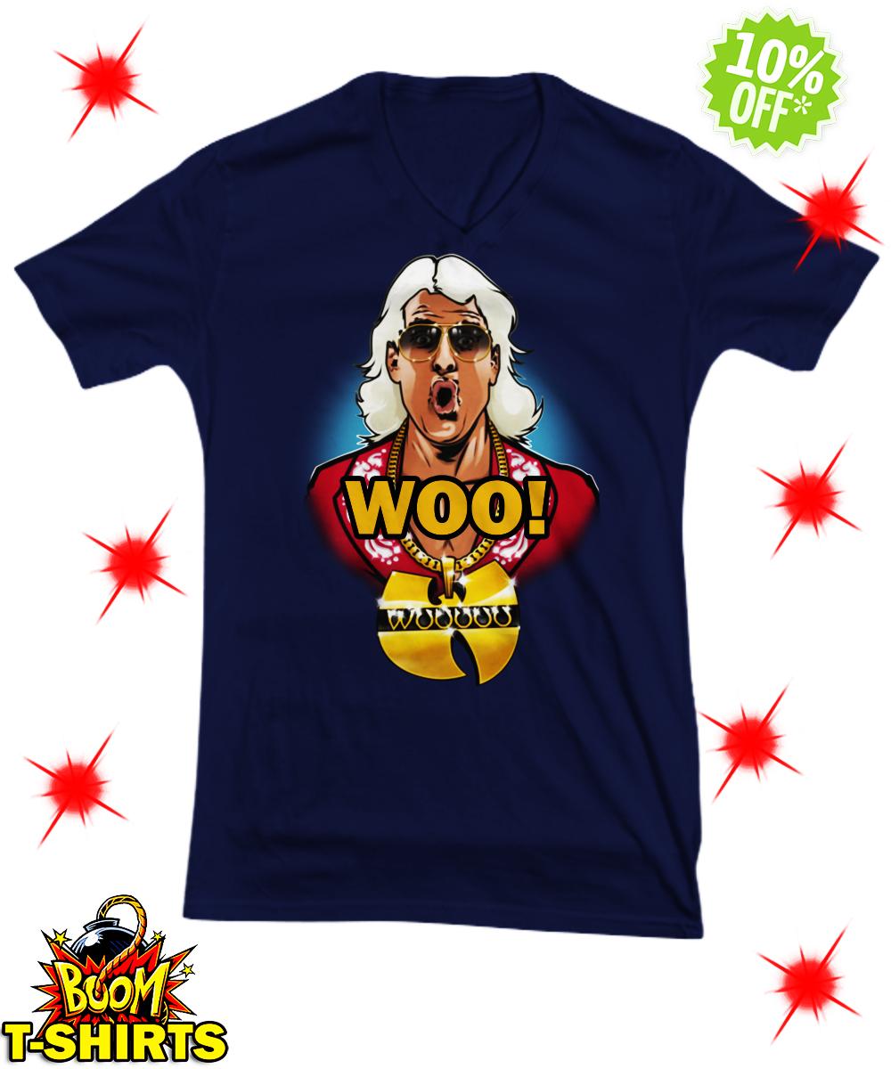 Ric Flair Woo Wu Tang v-neck