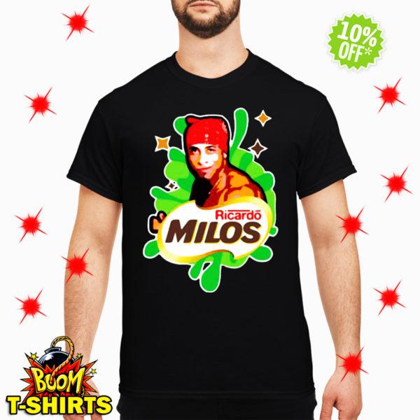 Ricardo Milos logoposting shirt