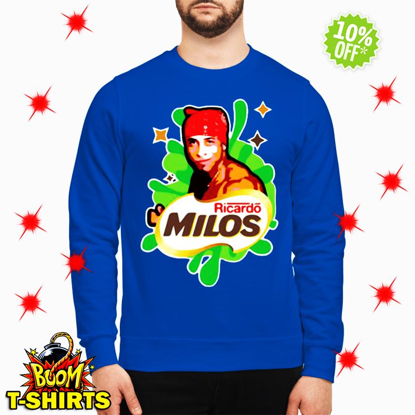 Ricardo Milos logoposting sweatshirt