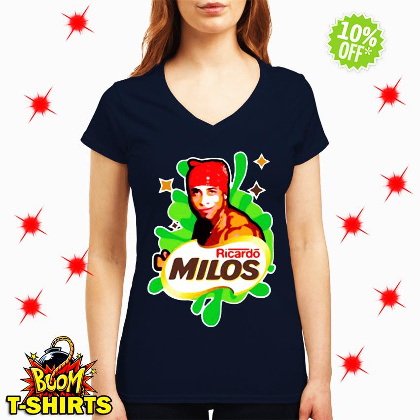 Ricardo Milos logoposting v-neck