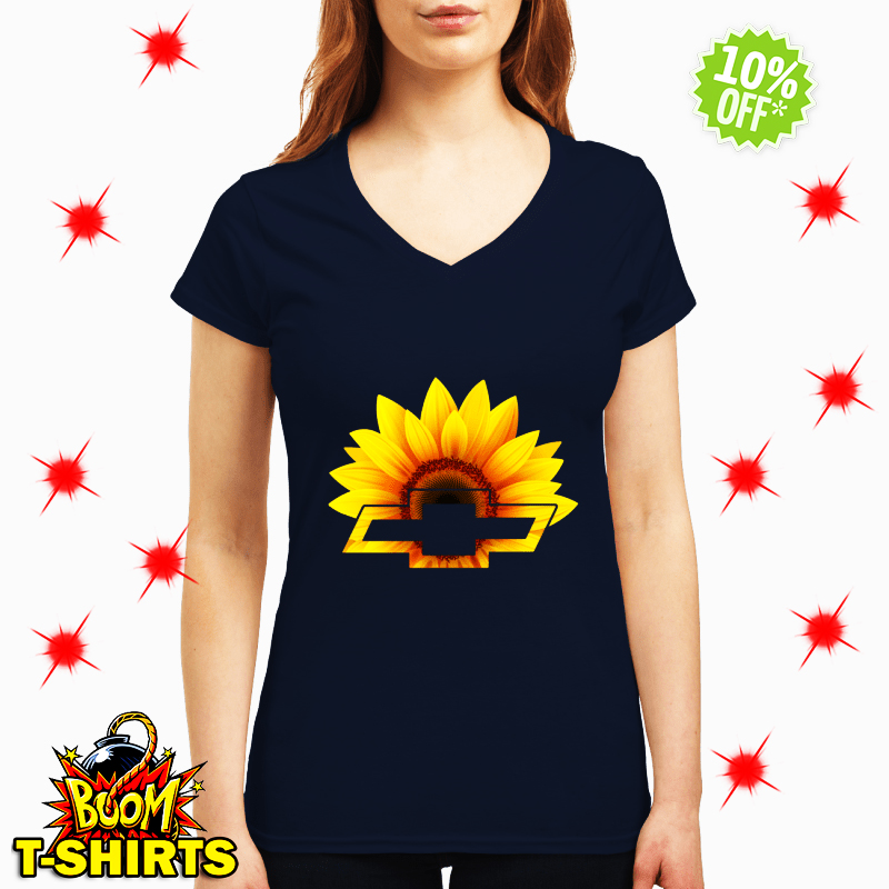Sunflower Chevrolet lady shirt