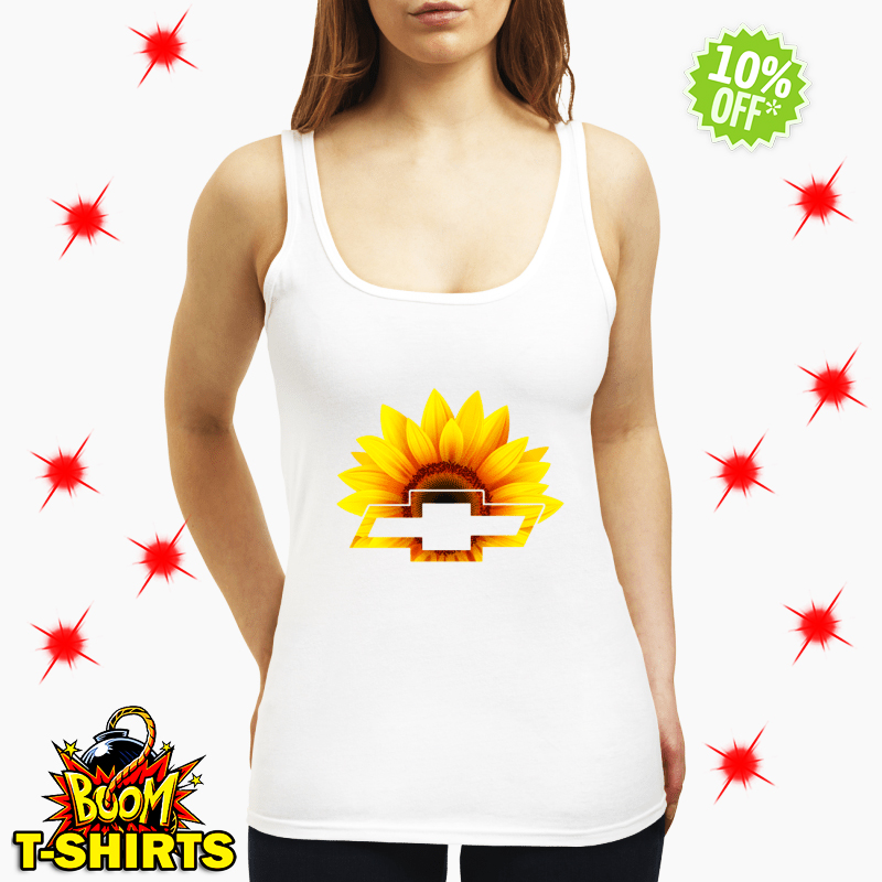 Sunflower Chevrolet tank top