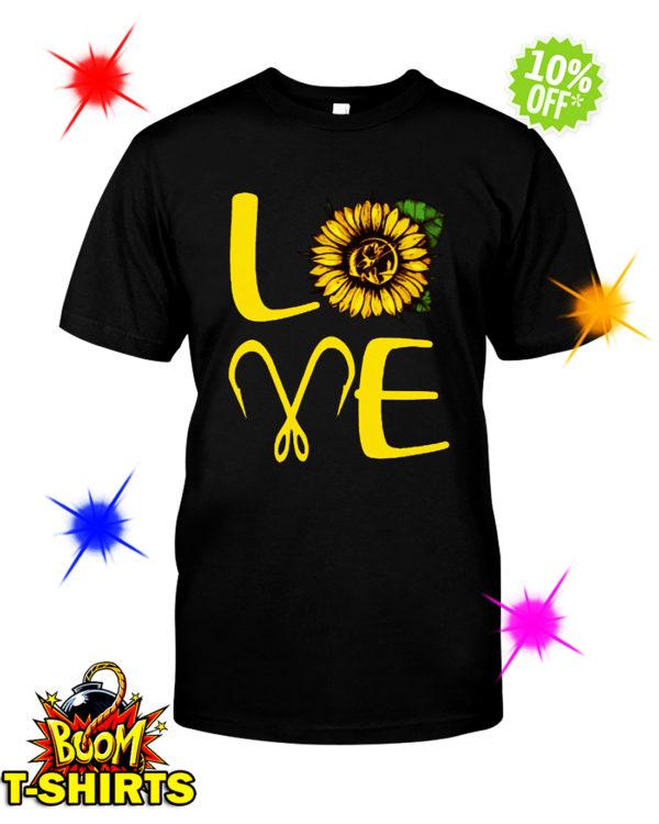 Sunflower Love Fishing shirt